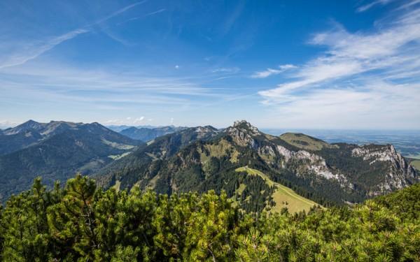 Wanderung zur Piesenhausener Hochalm