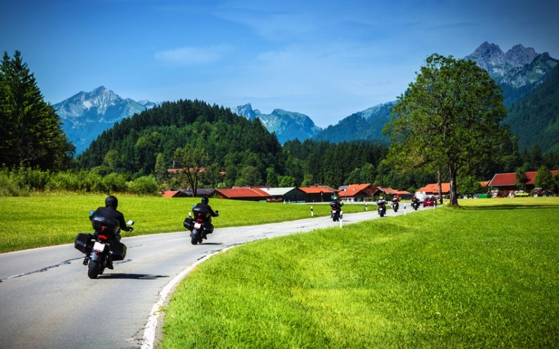 Biker Kurztrip im Chiemgau